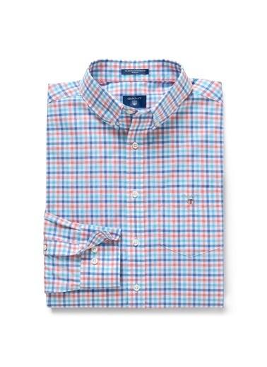 Gant Kareli Regular Gömlek Renkli